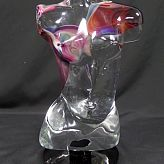 Dino Rosin Murano glass Torso Sculpture