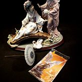 Lladro Figurine Springtime in Japan no1445 orig Box