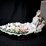 Rare Large Lladro Figurine no1866 River of Dreams Original Box no 662 of 2500